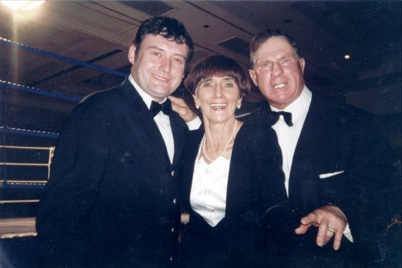 Roy Shaw with Dot Cotton and Jimmy White
