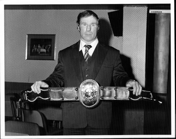 Roy Shaw Unlicensed Boxing Champion